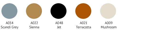 IZM0021 Colour Palette