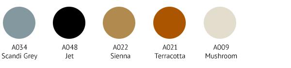 IZM0034 Colour Palette