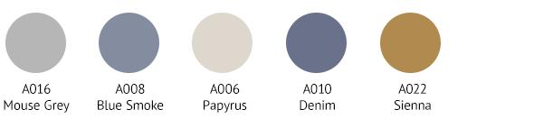 KAS0006 Colour Palette