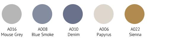 KAS0010 Colour Palette