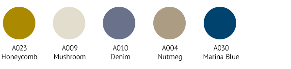 MED0009 Colour Palette