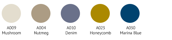 OTT0009 Colour Palette