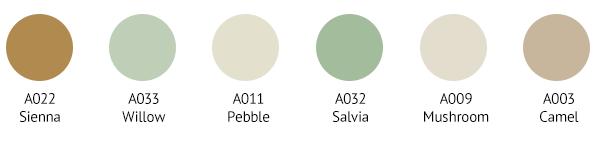 SDC0032 Colour Palette