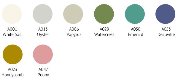SPR0001 Colour Palette