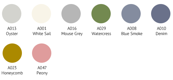 SPR0013 Colour Palette