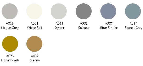 SPR0016 Colour Palette