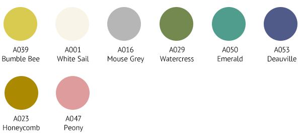 SPR0039 Colour Palette