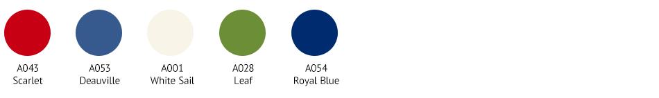 SWT0043 Colour Palette