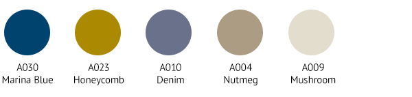 TOP0009 Colour Palette