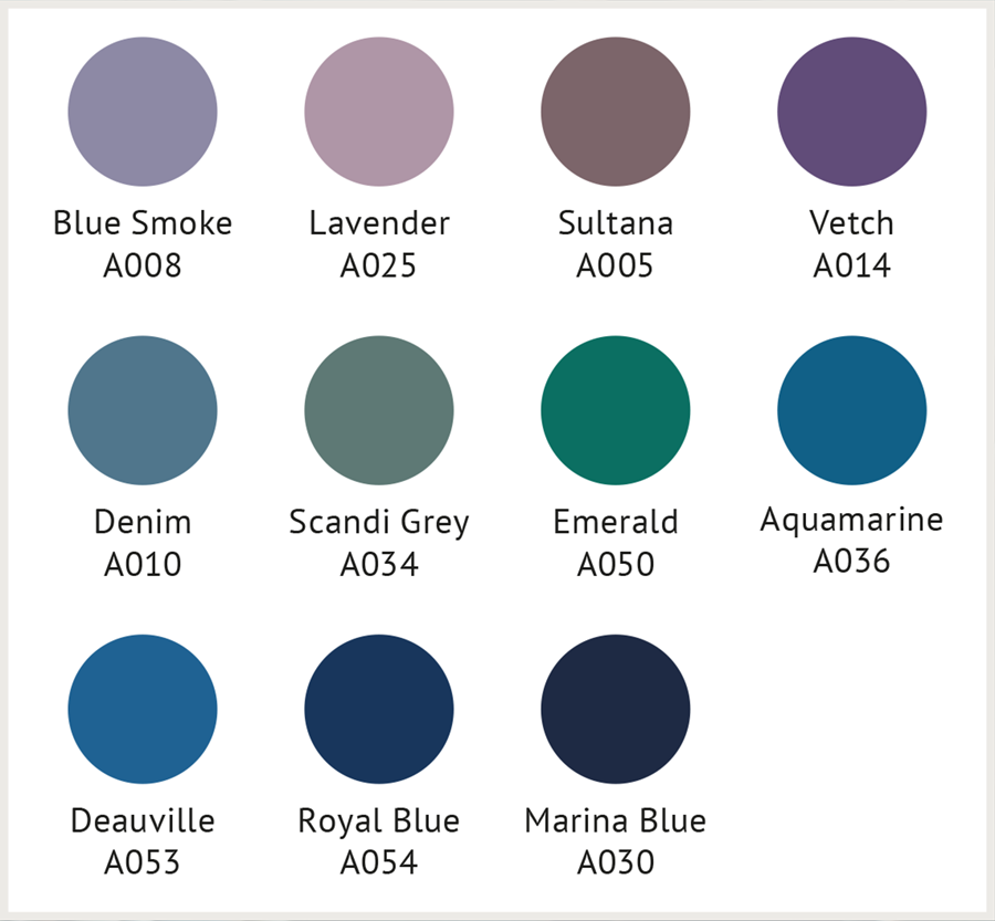 GW blue purple Design Folio Palette