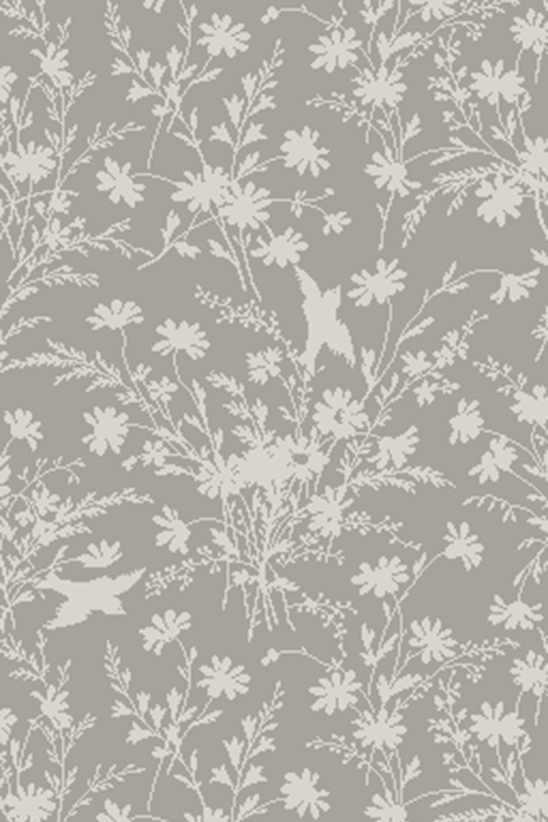 Spring Meadow Silhouette SIL0052