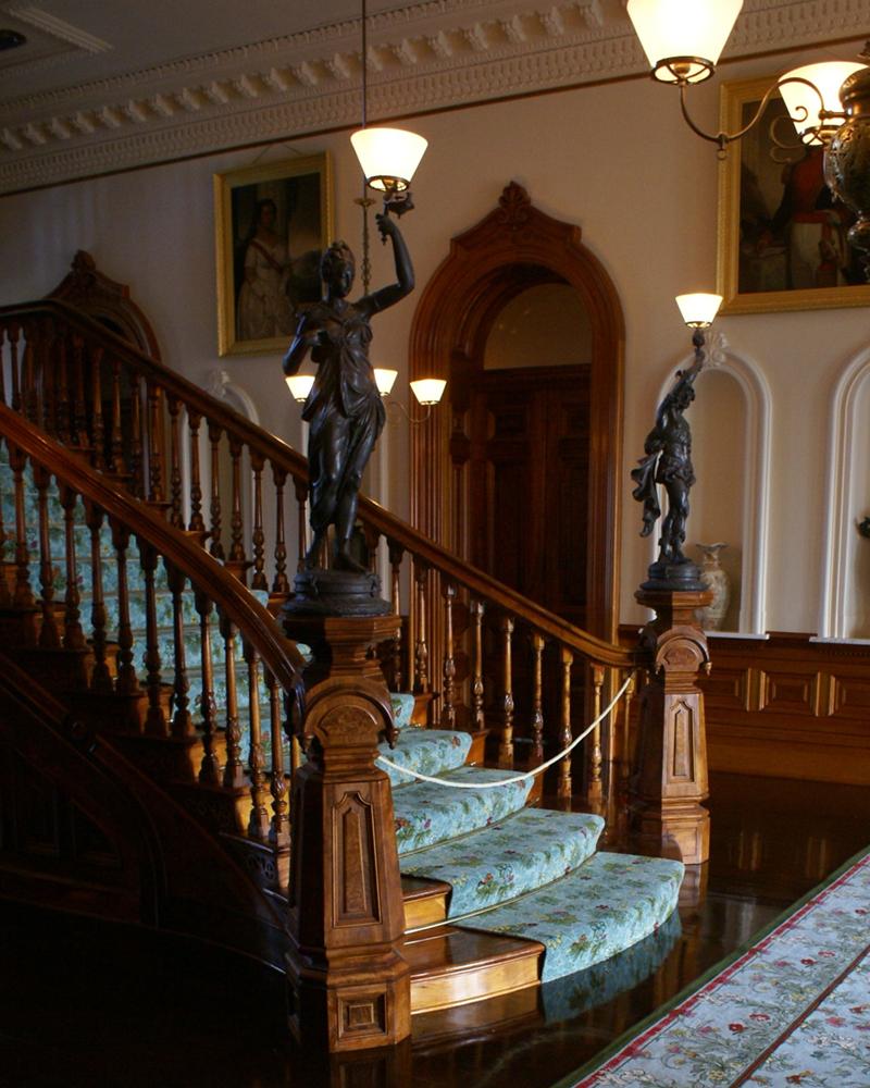 Custom Staircase and Rug